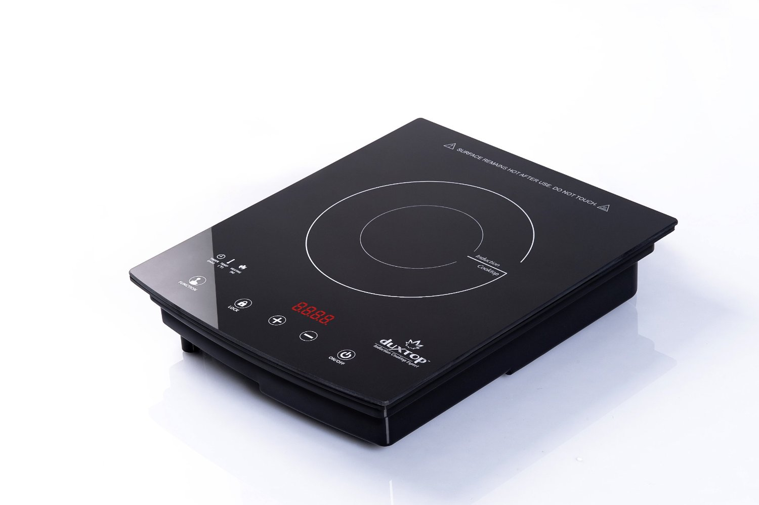 DUXTOP 1800-Watt Portable Sensor Touch Induction Cooktop