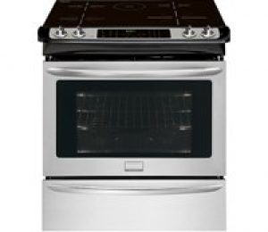 Frigidaire FGIS3065PF: Frigidaire Gallery 30'' Slide-In Induction Range