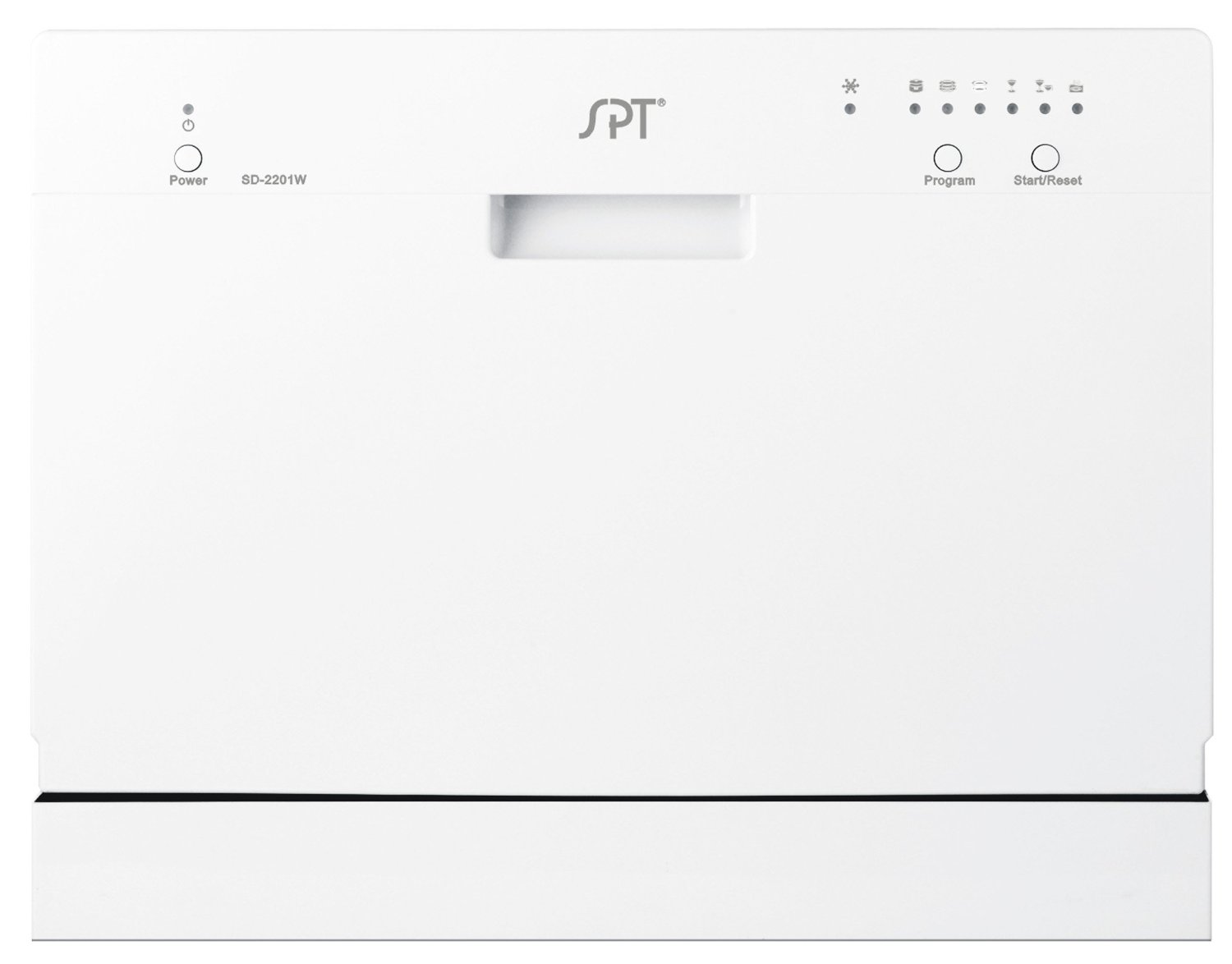 SPT Countertop Dishwasher - White
