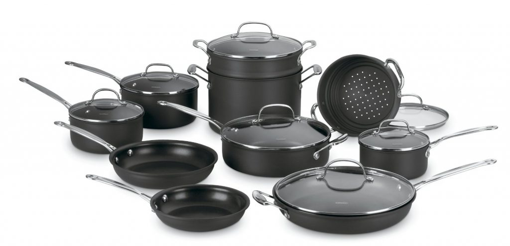 Cuisinart 66 17 Chef S Clic Nonstick Cookware Set Review By Adwin Cusinart Star