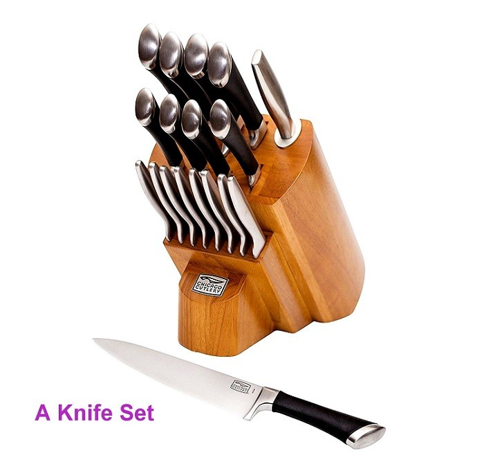 A Knife Set review
