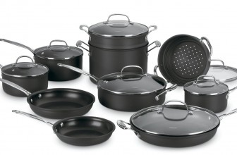 Cuisinart 66-17 Chef's Classic Nonstick Hard-Anodized 17-Piece induction Cookware Set Review