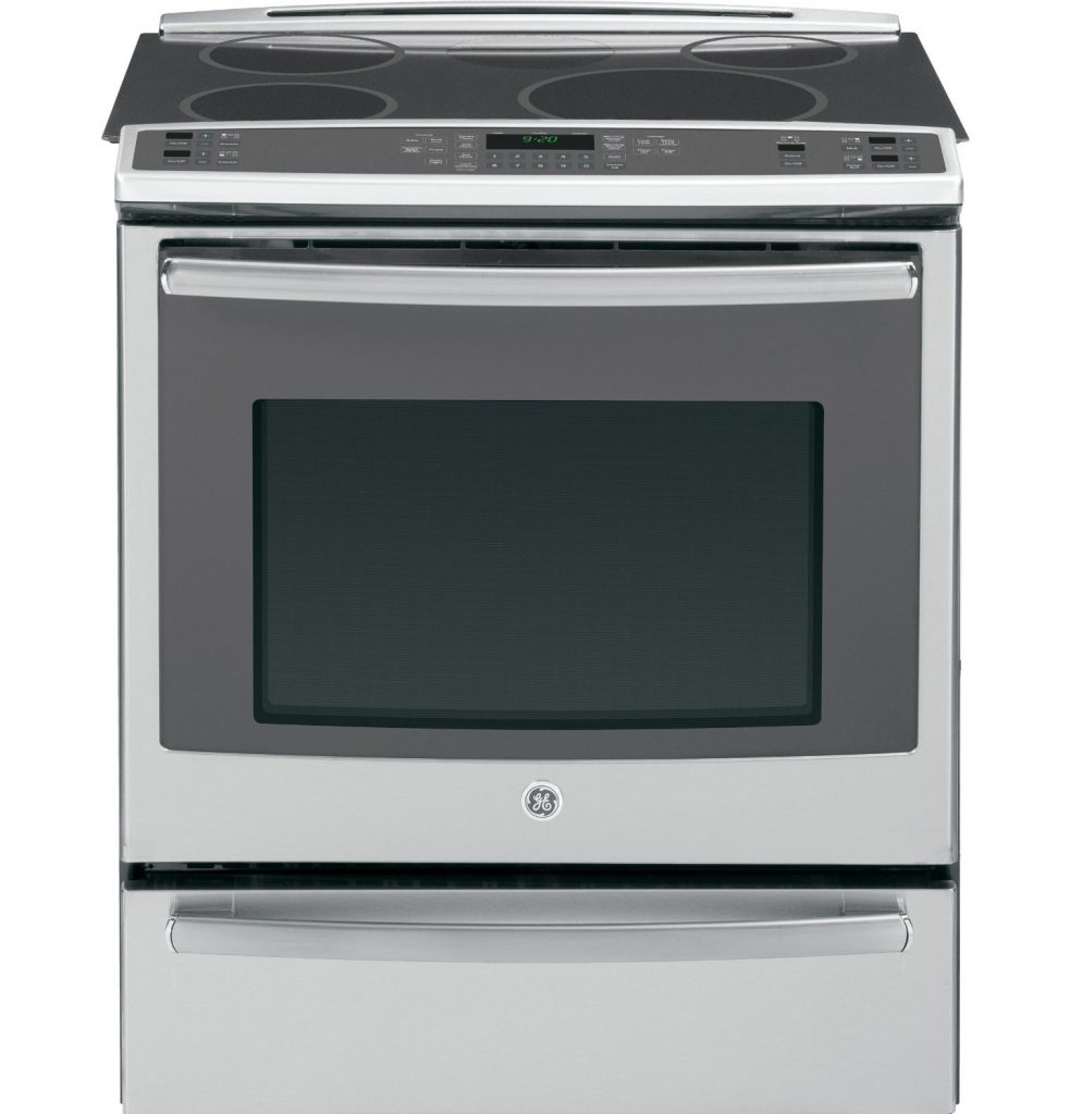 "GE PHS920SFSS Profile 30"" Stainless Steel Electric Slide-In Induction Range"