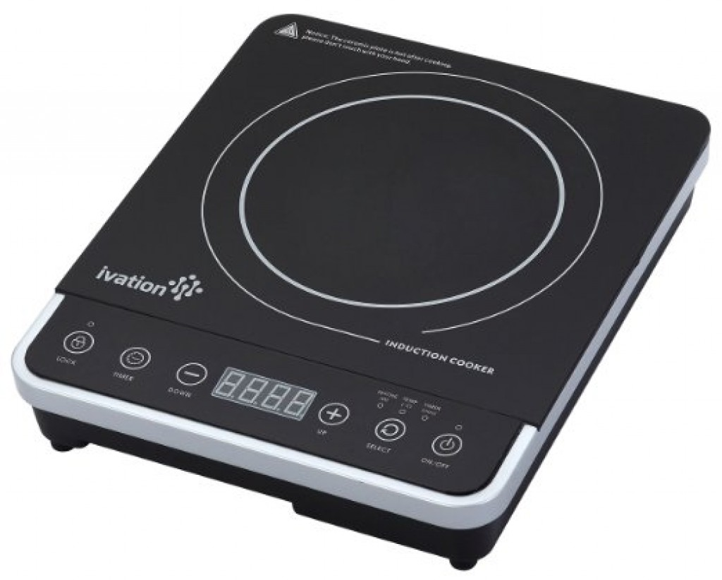 Ivation 1800 Watt Portable Induction Countertop Induction Countertop