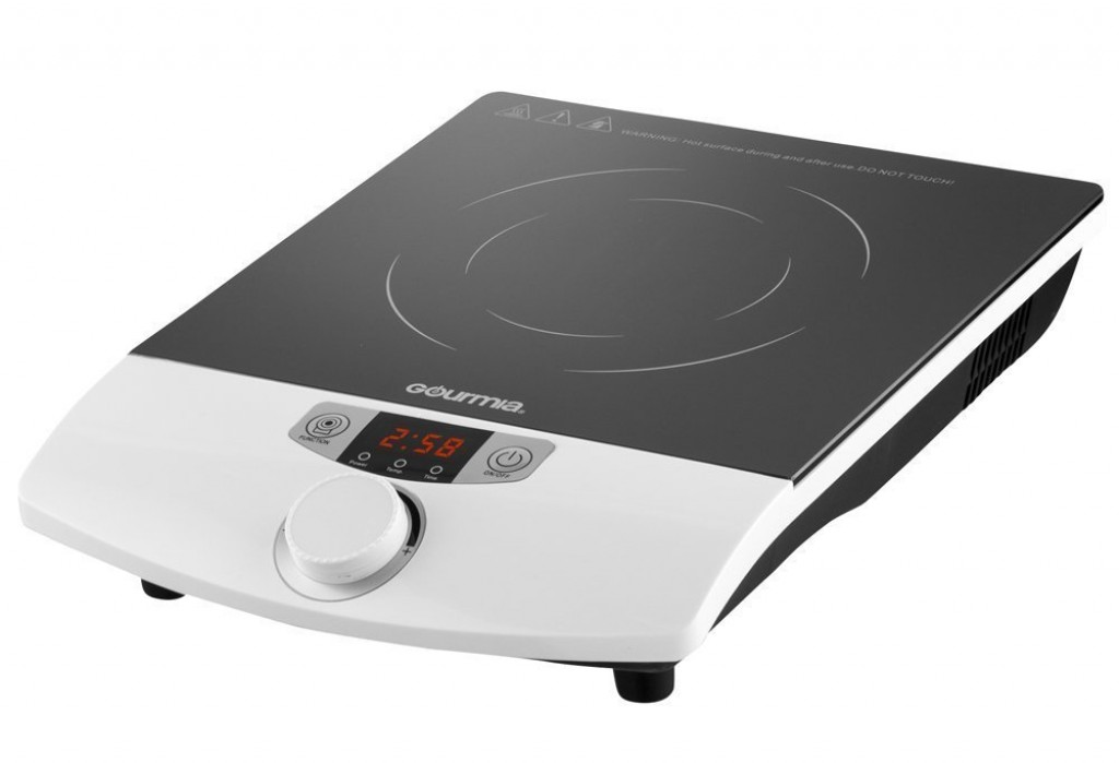 Elegant Gourmia Multifunction Portable 1800 Watt Induction Cooker Cooktop