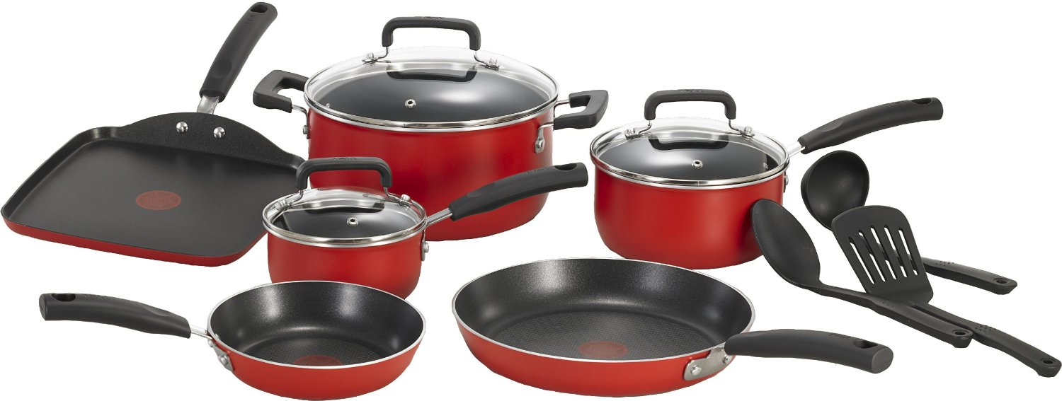 T-Fal Singnature Non stick Cookware Set