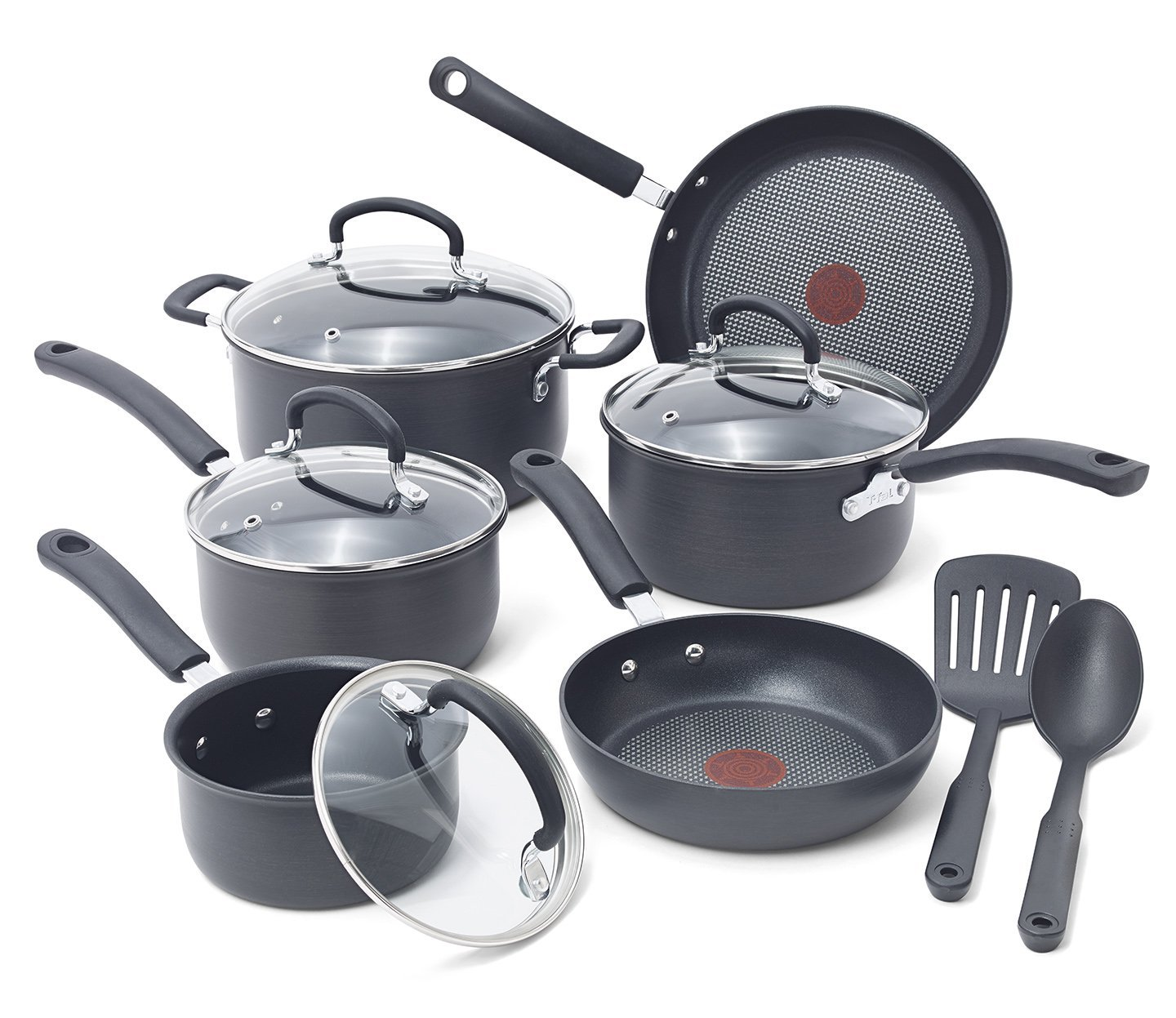 T Fal Ultimate Hard Anodized Cookware Set Reviews E765sc