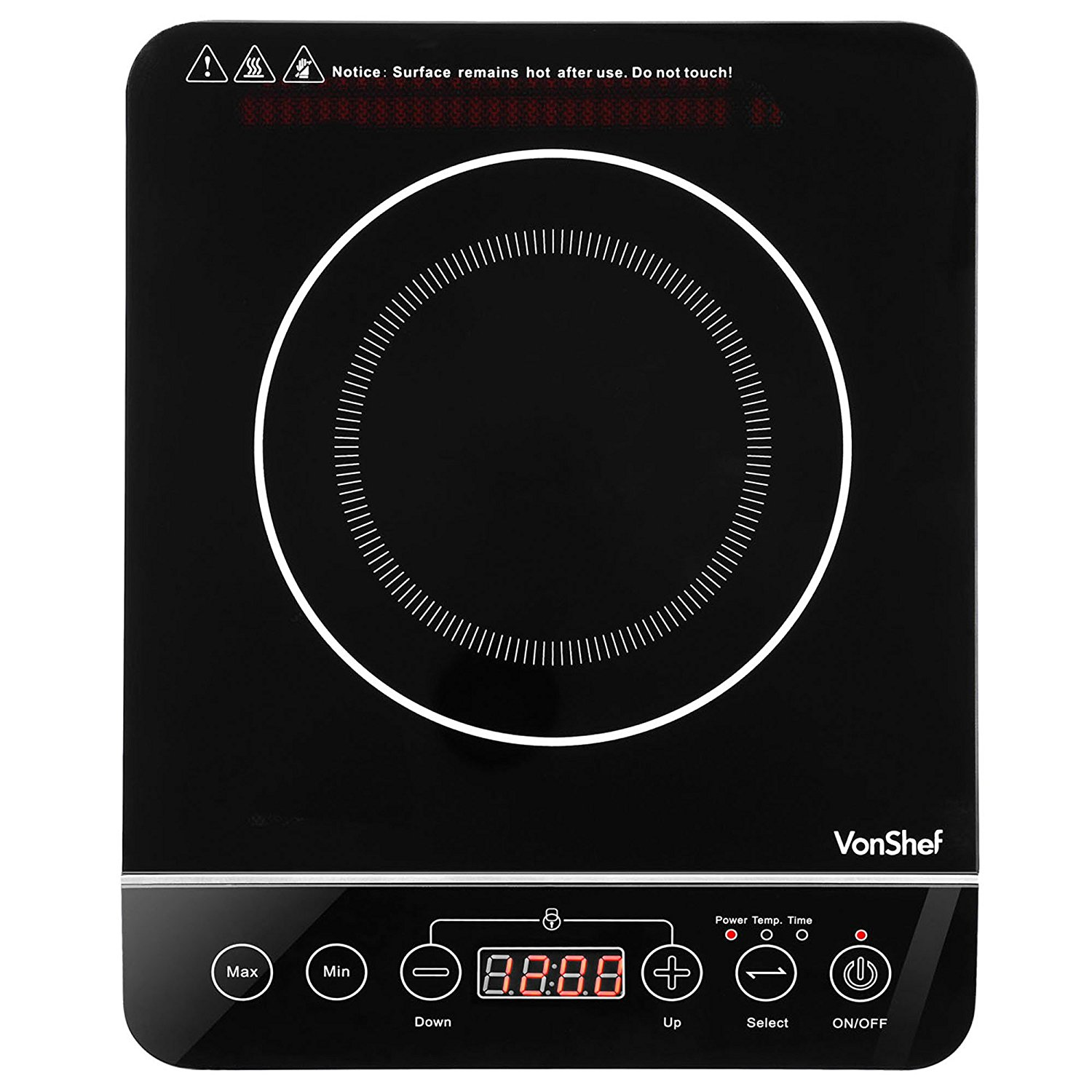 Vonshef Portable Digital Electric Induction Countertop