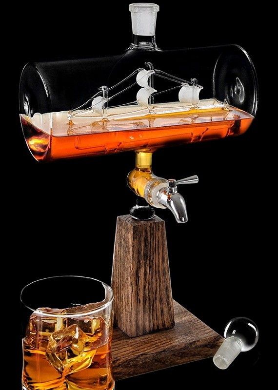 Stainless Steel Spigot Whiskey Decanter Liquor Dispenser review