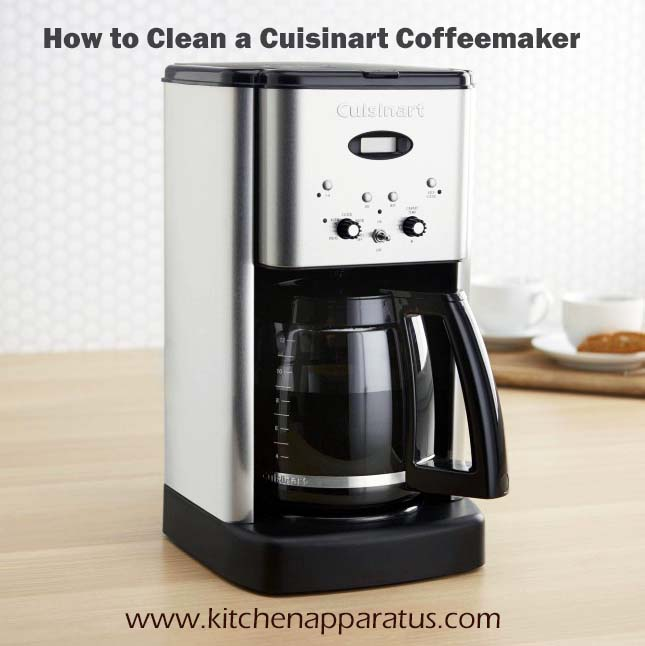 enhance the life of your cuisinart coffee maker by descaling it ...
