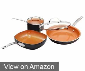 Gotham Steel 5-Piece Kitchen Essentials Set