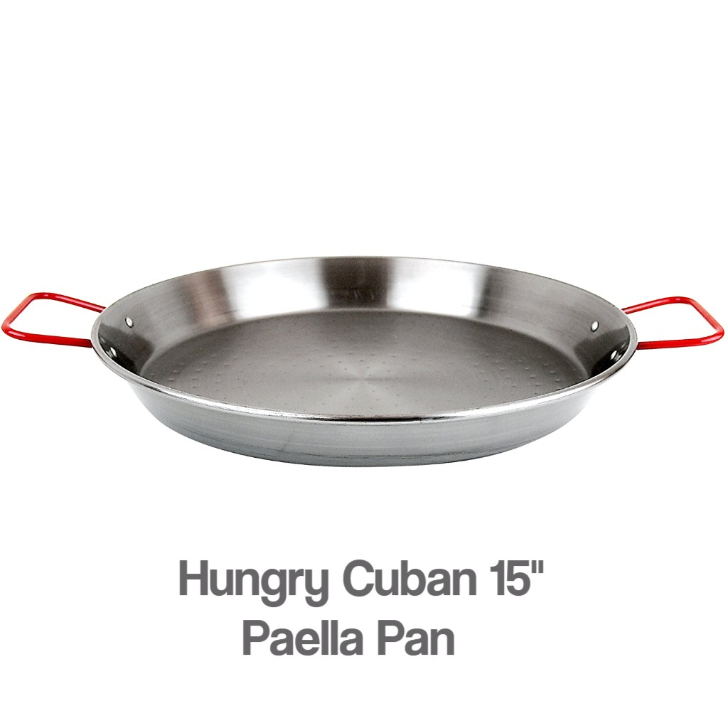 Hungry Cuban 15-inches Paella Pan