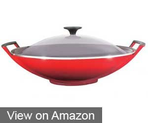 Le Creuset Enameled Cast Iron Signature Wok