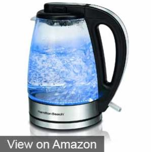 Hamilton Beach 40865 Glass Electric Kettle