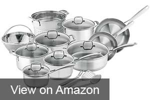 Chef's Star Pots and Pans Set