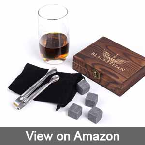 Black Titan Whiskey Stones