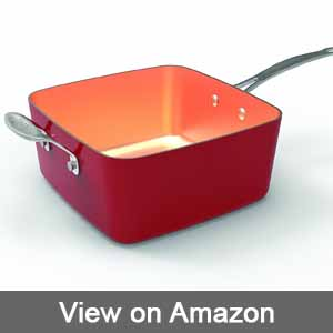 Red Copper Square Pan Reviews 2019 Kitchen Apparatus