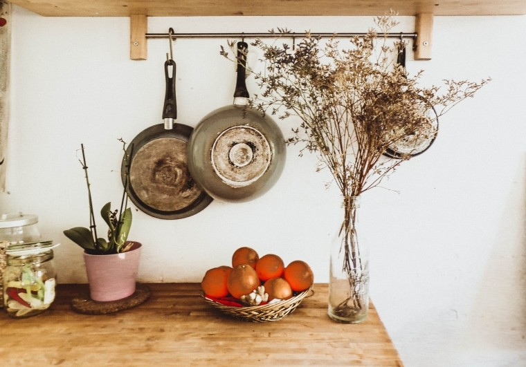 how to maximize small kitchen space
