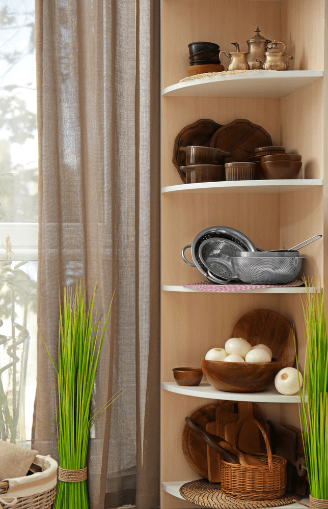 how to maximise small kitchen space