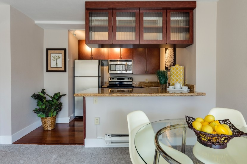 how to make more counter space in a small kitchen