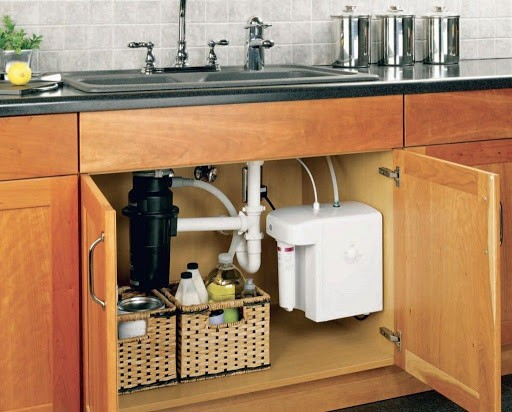 Review the installation method of under water sink filter