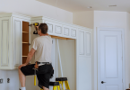 How to Add Glass to Kitchen Cabinet Doors