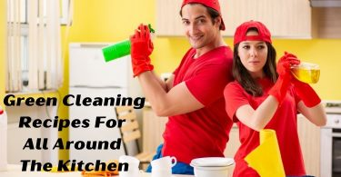 Green Cleaning Recipes for All Around the Kitchen