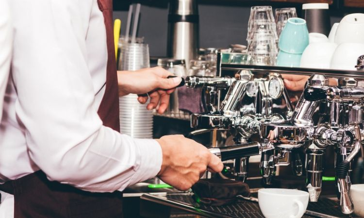 coffee machine for business