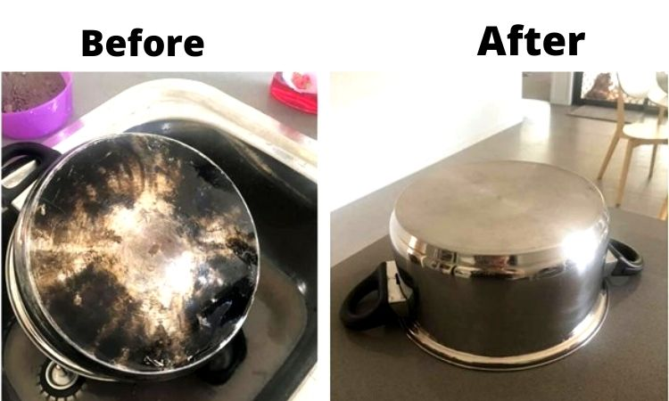 how to clean hard anodized