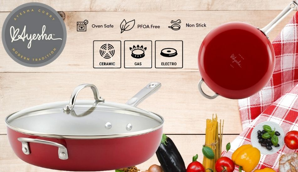 ayesha curry pots and pans reviews