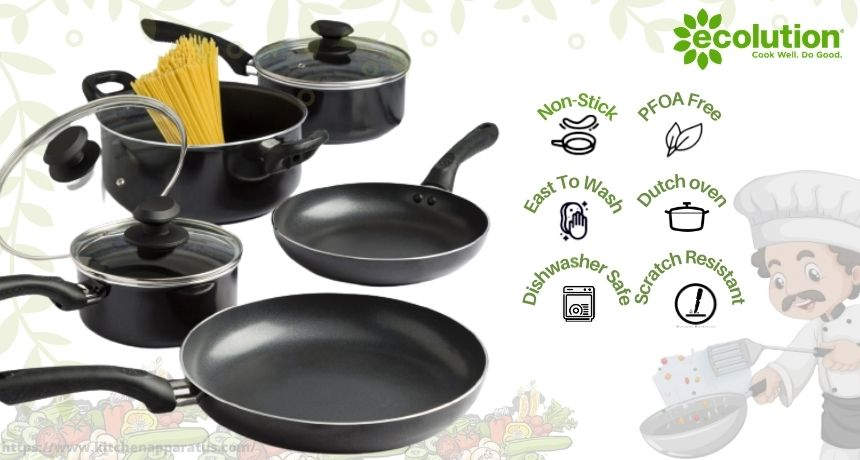 is ecolution cookware safe