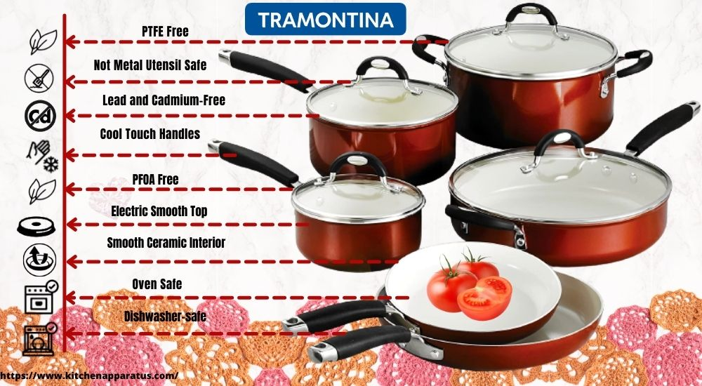 is tramontina cookware safe