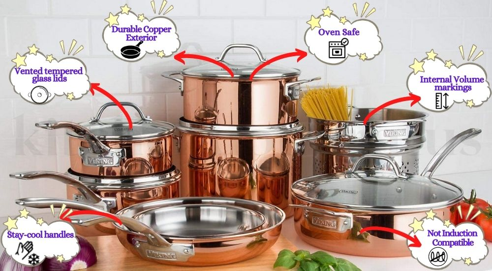 viking copper cookware review