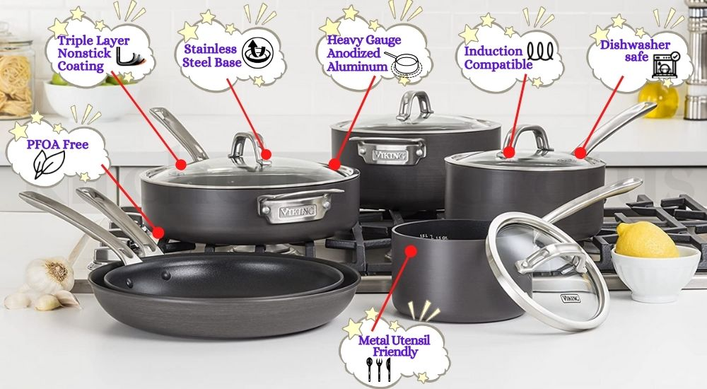 viking induction cookware review