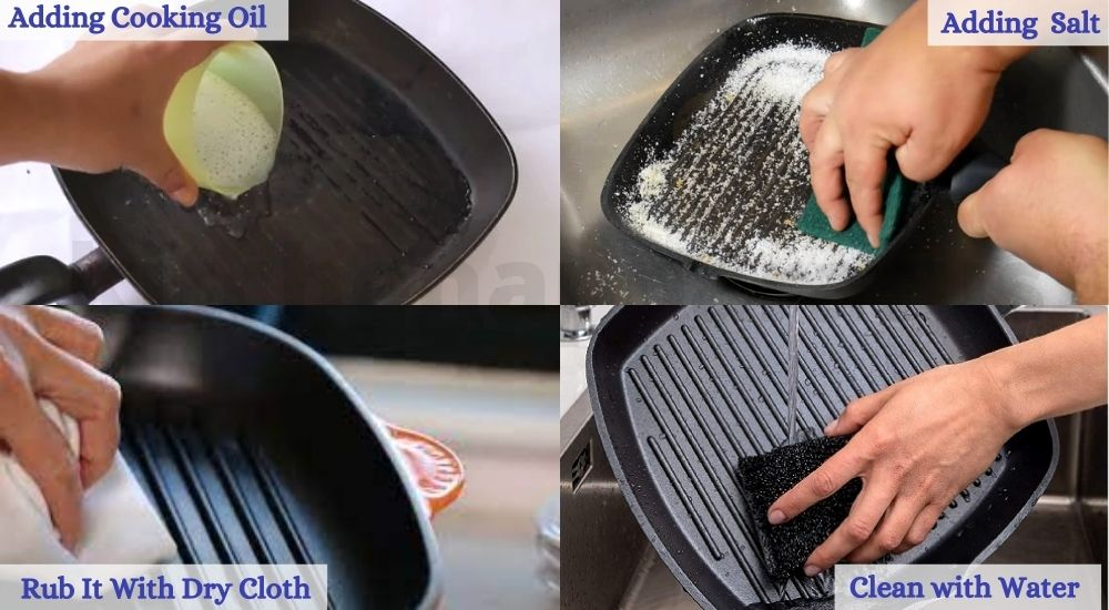 cleaning cast iron griddle
