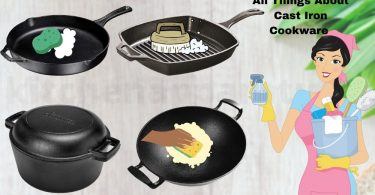 how to clean rusty cast iron