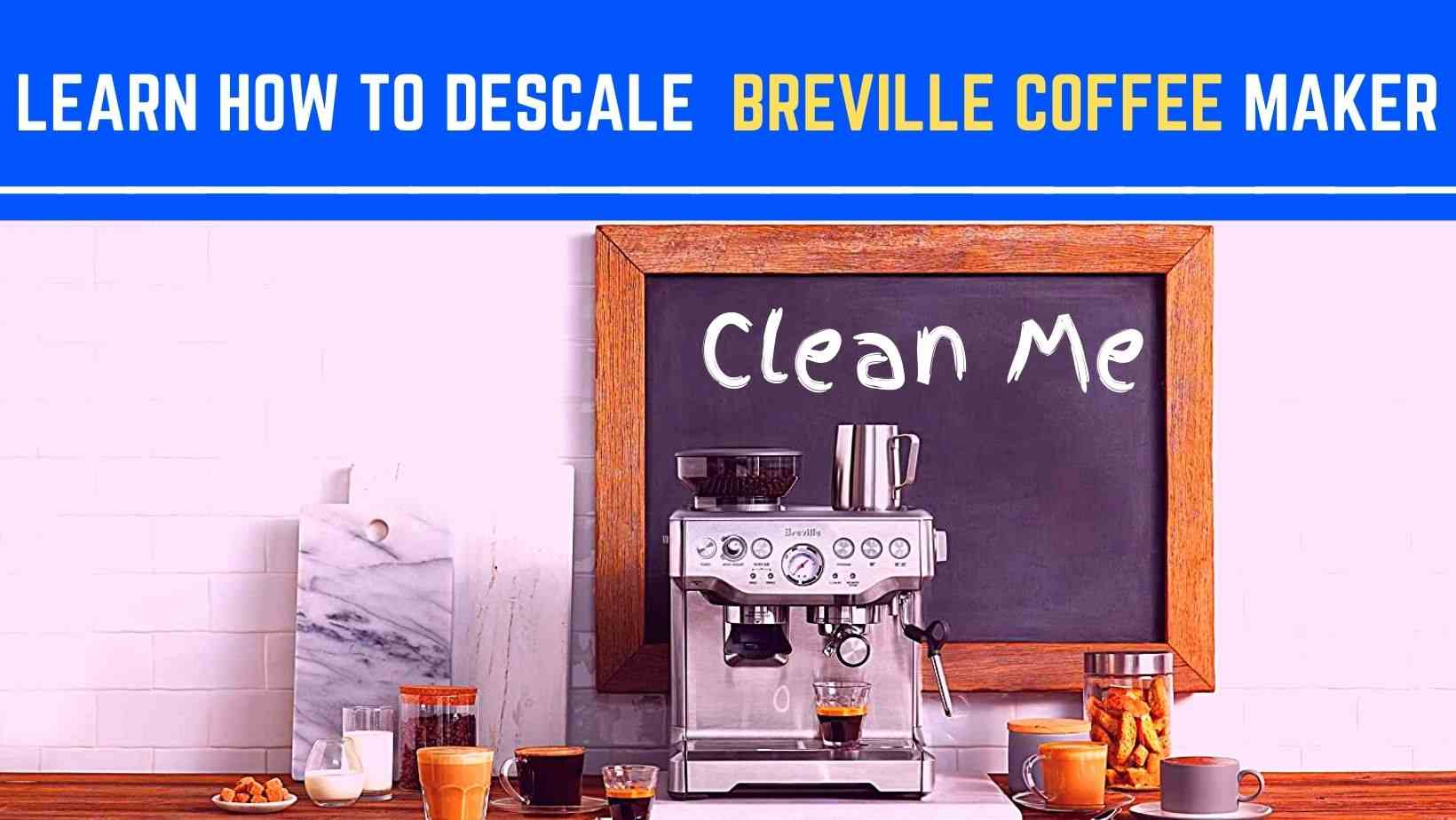 Learn How to Descale Breville Coffee Maker