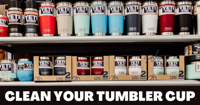 how to clean yeti cup